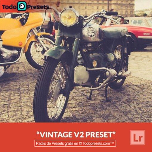 Lightroom Preset Vintage V2