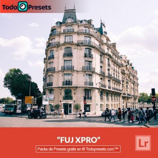Lightroom Preset FUJ XPro