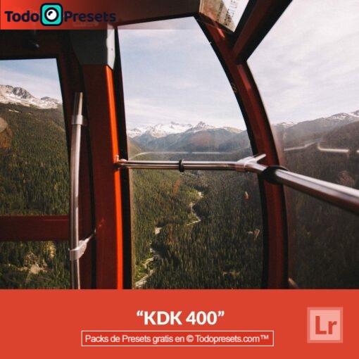 Lightroom Preset KDK 400