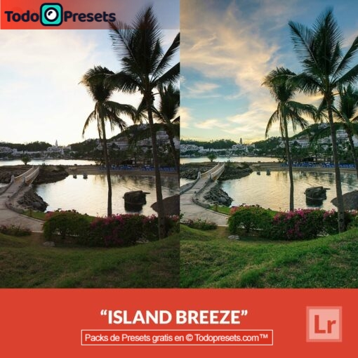 Island Breeze de Lightroom Preset gratis