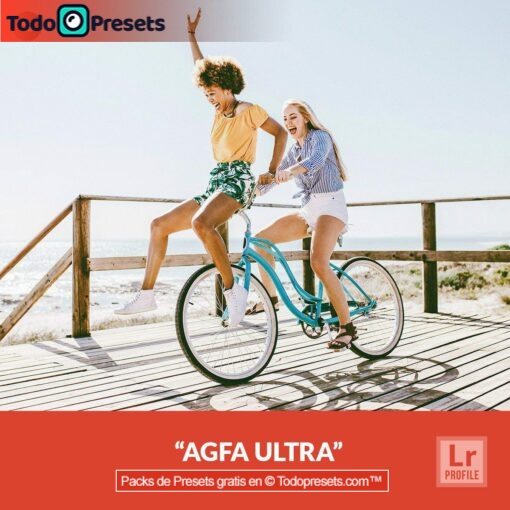 Perfil de Lightroom gratis Agfa Ultra