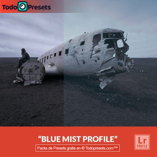Perfiles de Lightroom gratis Blue Mist