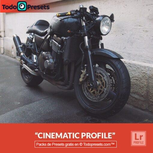 Cinemática de perfiles de Lightroom gratis