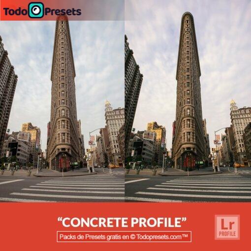 Lightroom Profiles Concrete