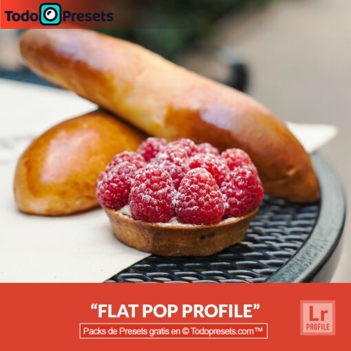 Lightroom Profiles Flat Pop