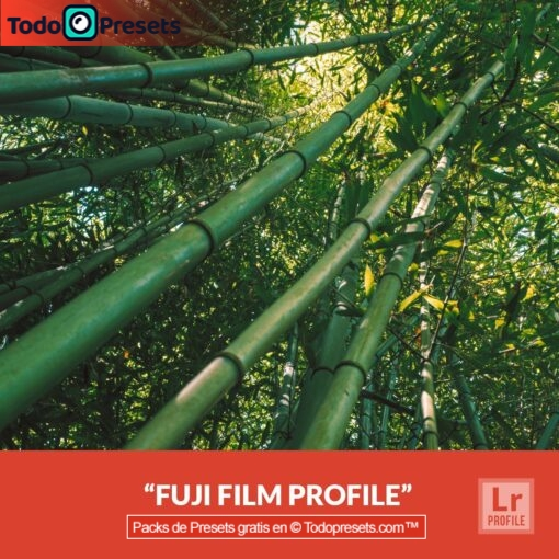 Perfiles de Lightroom gratis Fuji Film