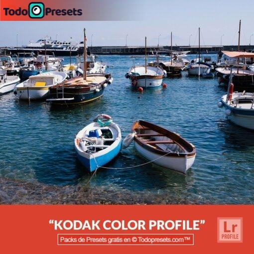 Perfiles de Lightroom gratis Kodak Color