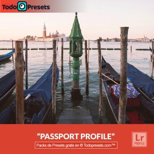 Pasaporte gratis de perfiles de Lightroom