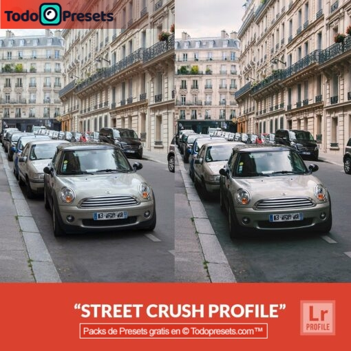 Perfiles de Lightroom gratis Street Crush