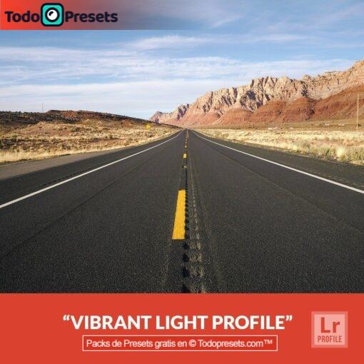 Perfiles de Lightroom gratis Luz vibrante