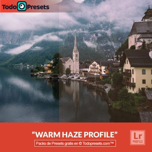 Perfiles de Lightroom gratis Warm Haze