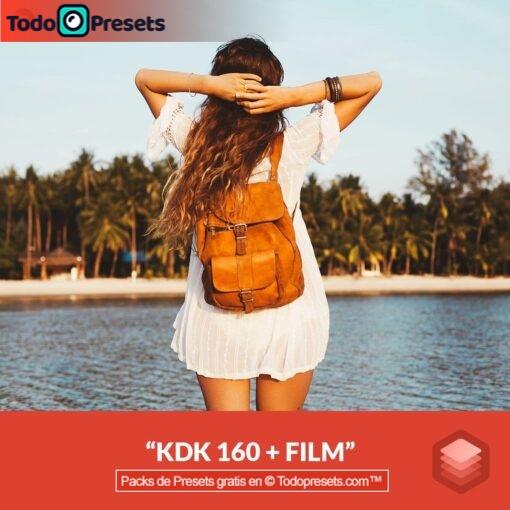 Película Luminar Look KDK 160 + gratis