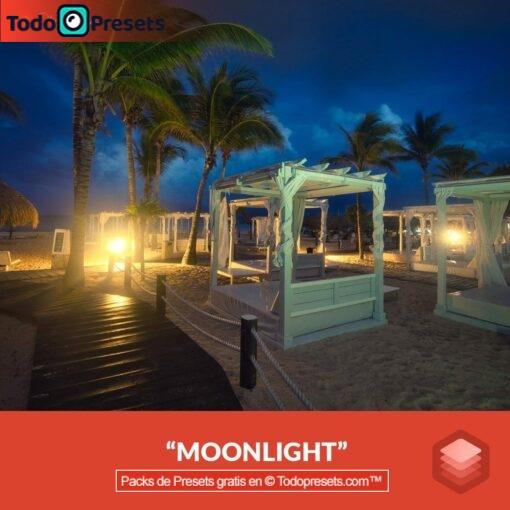 Luz de luna Luminar Look gratis