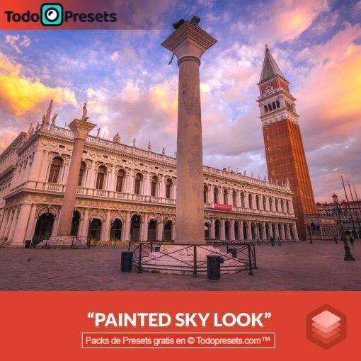 Luminar Look Painted Sky