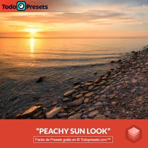 Luminar Look Peachy Sunrise