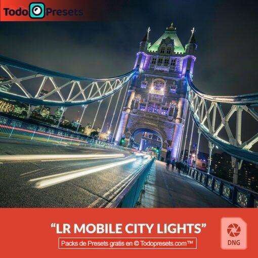 Luces de ciudad Presets DNG gratis
