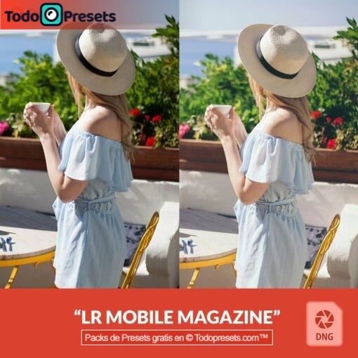 Revista de preset DNG gratis
