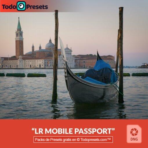 Pasaporte Preset DNG gratis