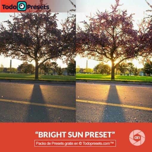 On1 Preset Bright Sun