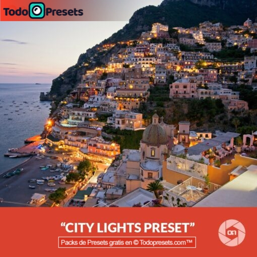 On1 Preset City Lights