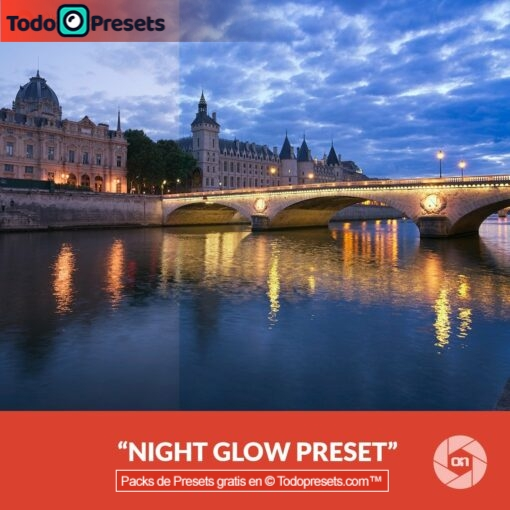 On1 Preset Night Glow