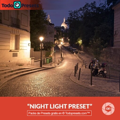 Luz nocturna Preset On1