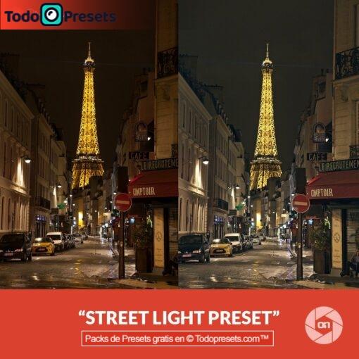 Luz de calle Preset On1