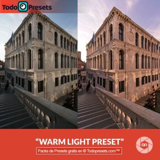 Luz cálida Preset On1
