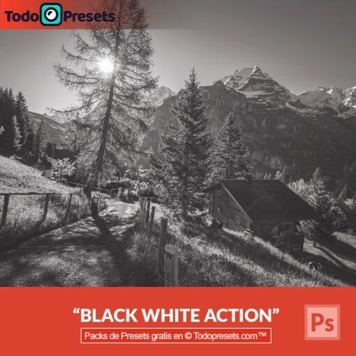 Preset de Photoshop Blanco y negro