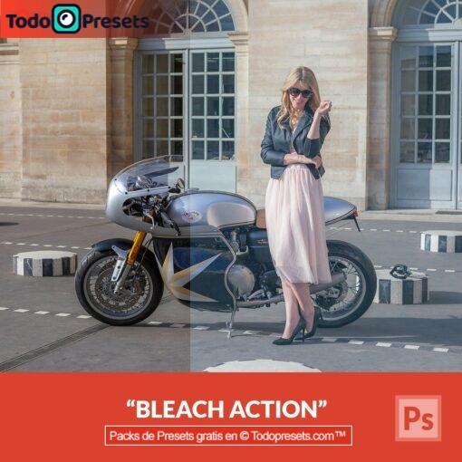 Bleach Preset de Photoshop gratis