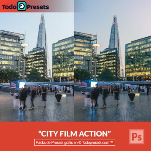 Película gratis de Photoshop Action City