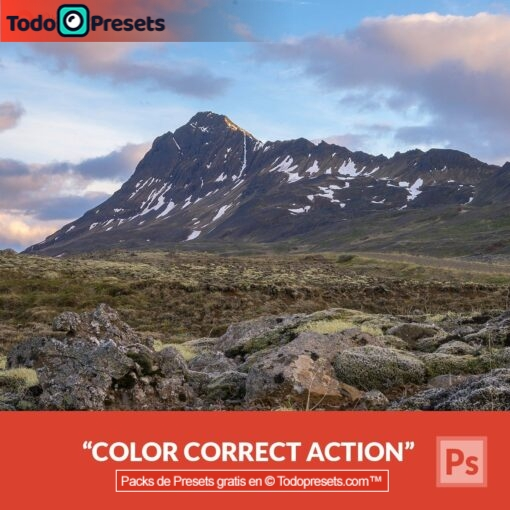 Corrección de color Preset de Photoshop gratis