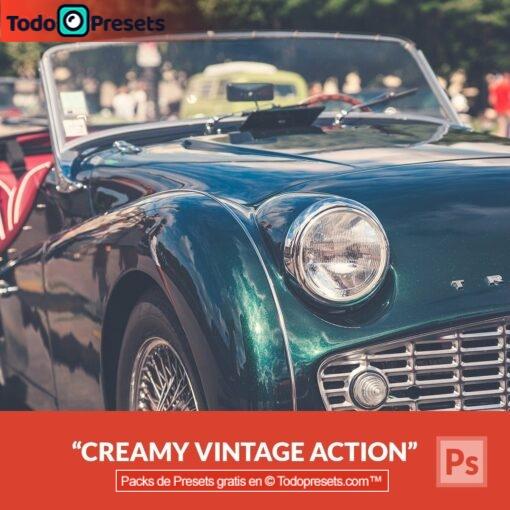 Preset de Photoshop Creamy Vintage