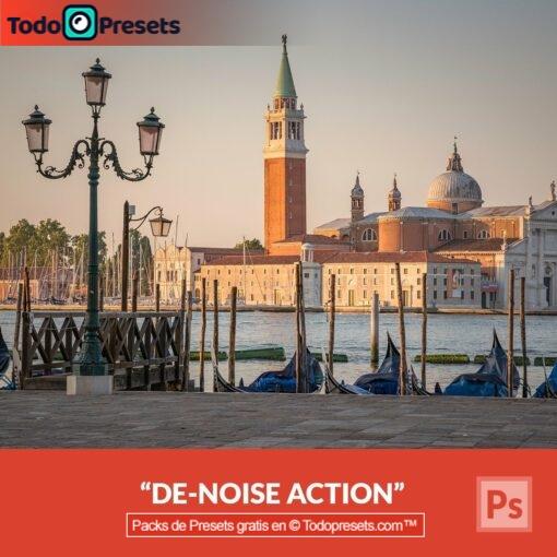 Eliminación de ruido Preset de Photoshop gratis