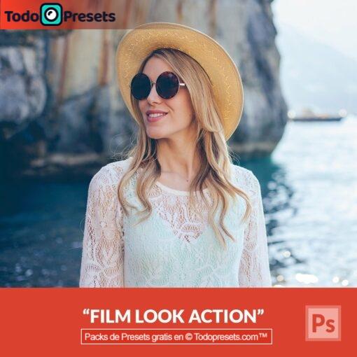Aspecto de película Preset de Photoshop gratis