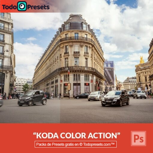 Preset de Photoshop Koda Color