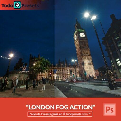 Preset de Photoshop London Fog