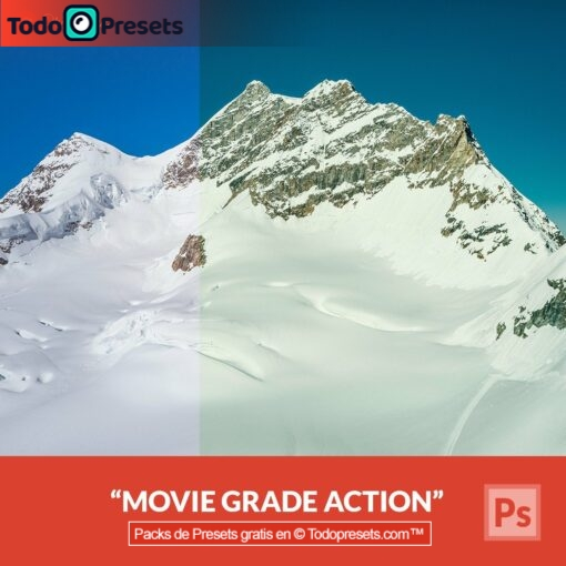 Photoshop Action Black Movie Grade