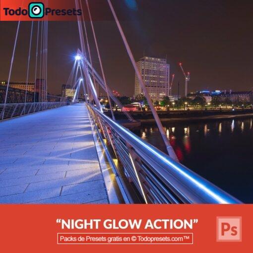 Brillo nocturno Preset de Photoshop gratis