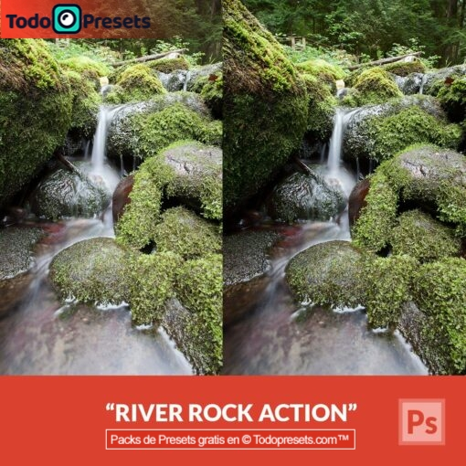 Preset de Photoshop River Rock