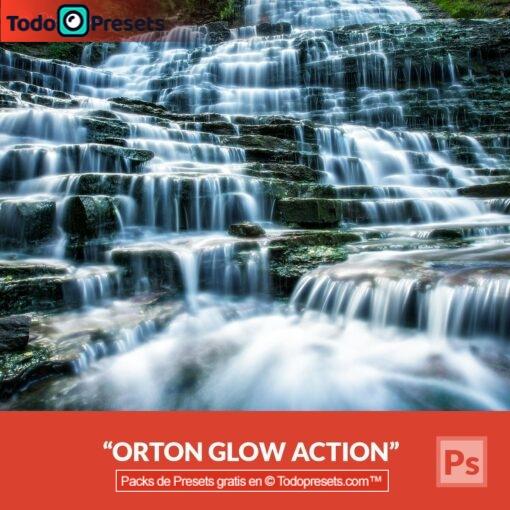 Preset gratis de Photoshop Orton Glow