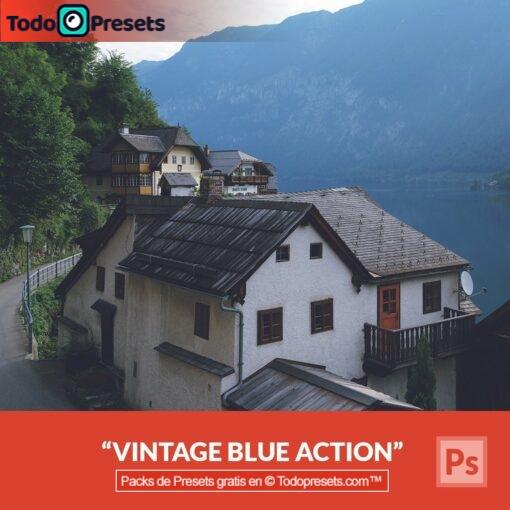 Preset de Photoshop Vintage Blue