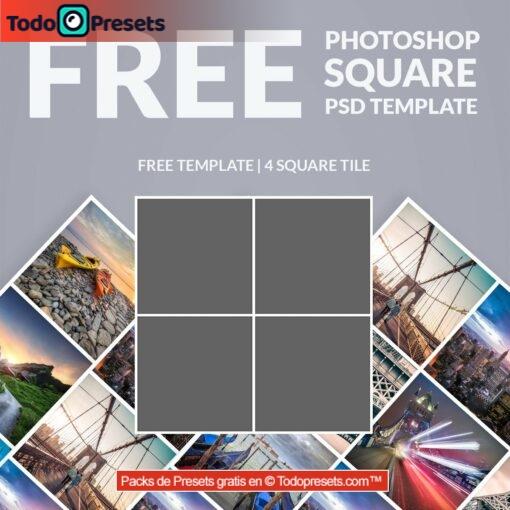 Plantillas gratis para Photoshop