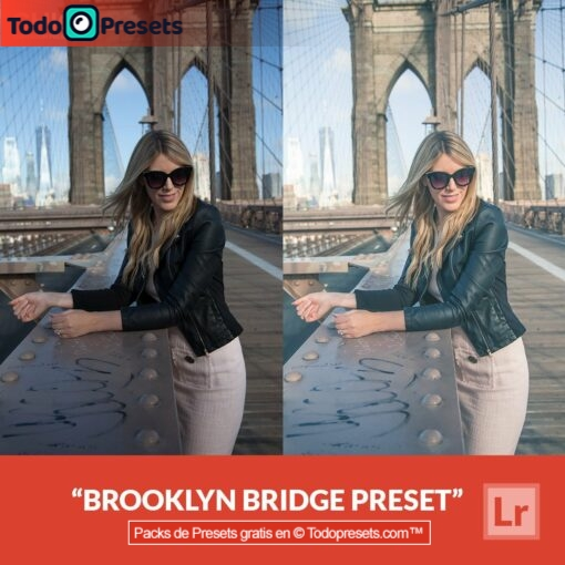 Puente de Brooklyn Preset de Lightroom gratis