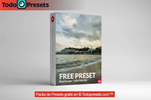 Beachscape predefinido de Lightroom gratis