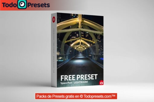 Puerto espacial Preset de Lightroom gratis