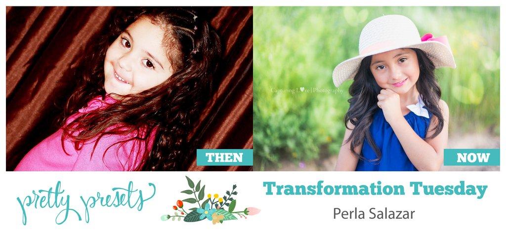 Martes de transformación: Con Perla Salazar en Pretty Presets para