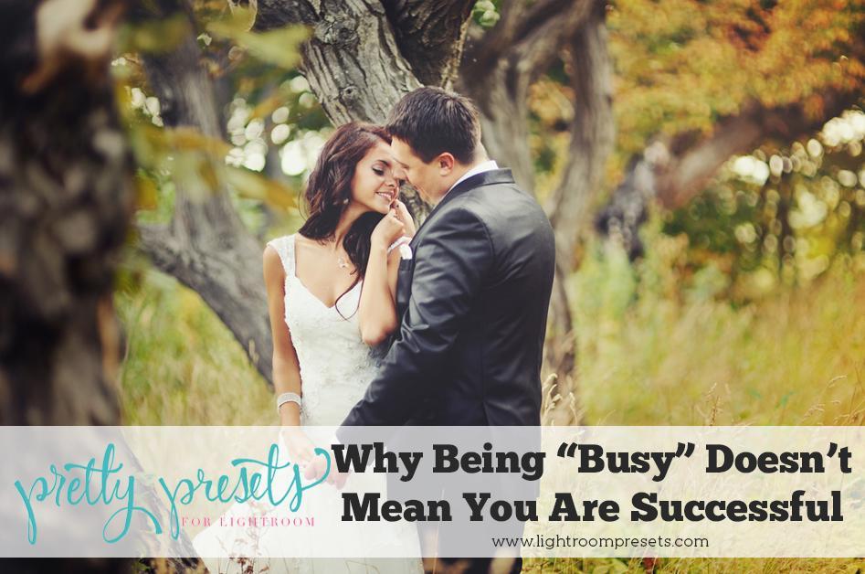 """Por qué estar """"ocupado"""" no significa que tenga éxito"""
