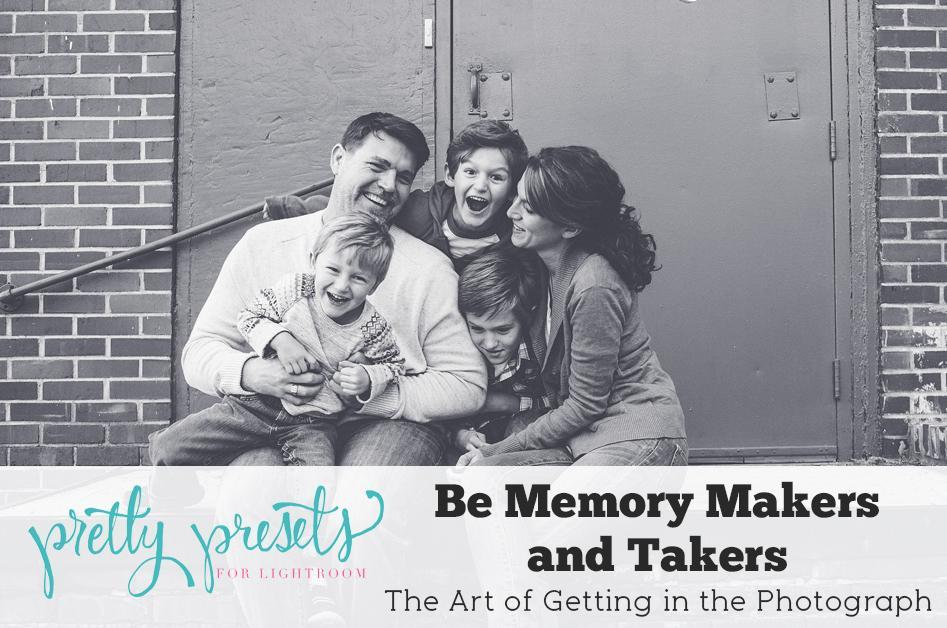 Ser tomadores de memoria y creadores {El arte de aparecer en la fotografía}