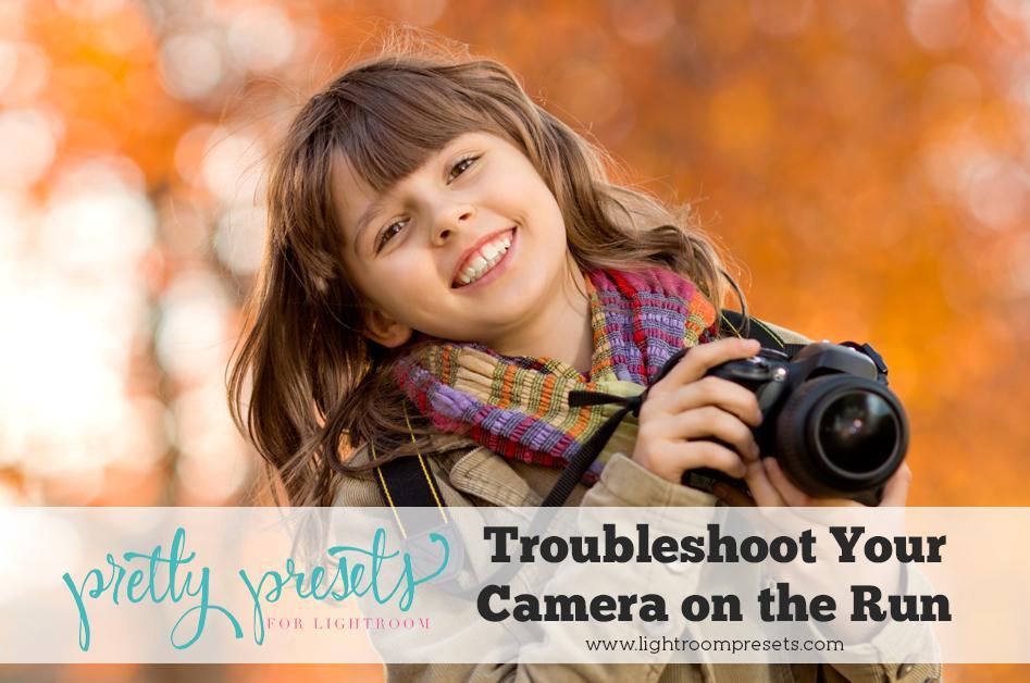 Solución de problemas de la cámara sobre la marcha